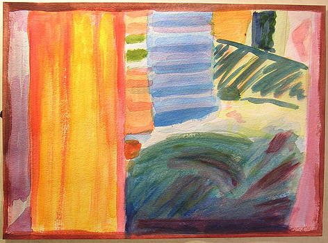In Bed in Venice after Howard Hodgkin by Nicholas Vermes