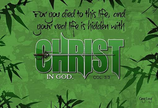 In Christ by Greg Long