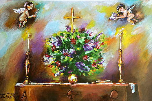 In Church by Khatuna Buzzell