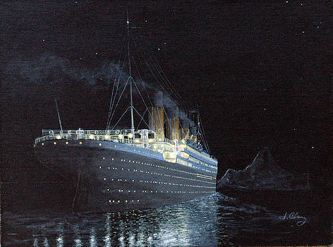 In Memory of the 100th Anniversary - R.M.S. Titanic by Jim Clary