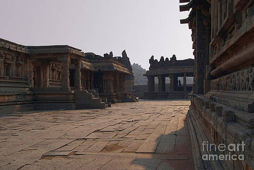 In the Courtyard of Vittala Temple by Serena Bowles