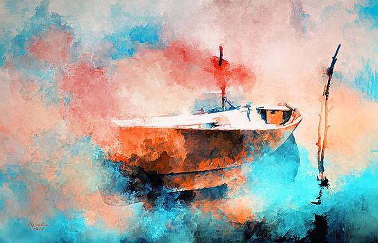 In the morning mist by Rosalina Atanasova