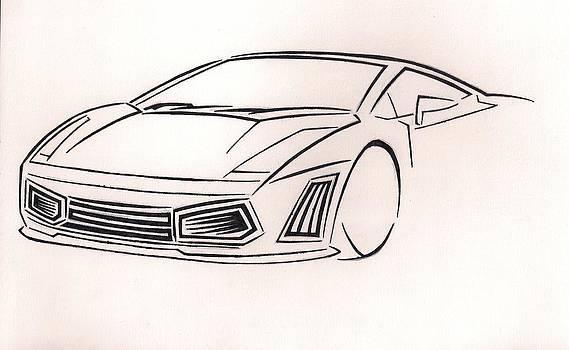 Incomplete Car by Raiyan Talkhani