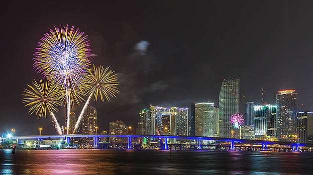 Independece Day Fireworks by Claudia Domenig