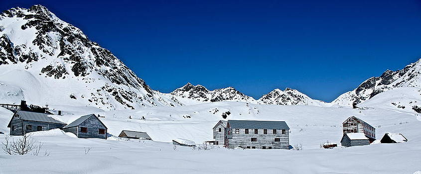 Independence Mine Hatcher Pass Palmer AK by Kelly Turnage