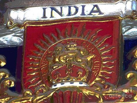 India - Notre Dame De Paris - France by Francoise Leandre