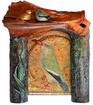 Indian Bird by Karen LeCocq