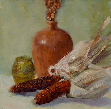 Indian corn by Roger Clark