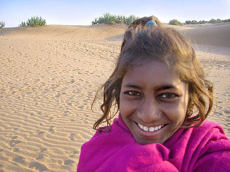 Indian Girl by Karin De oliveira