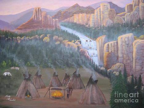 Indian Rock by Betty Reineke