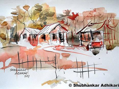 Indian Villages by Shubhankar Adhikari