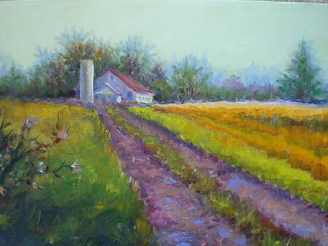 Indiana Farmland by Holly LaDue Ulrich
