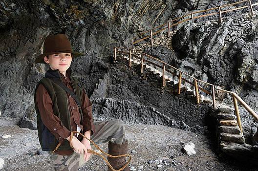 Indiana Jones Mav by Sheri Bartay