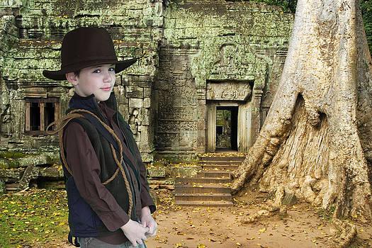 Indiana Maverick at the Temple by Sheri Bartay