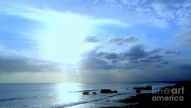 Indonesian Beach Sunset by Samantha Mills