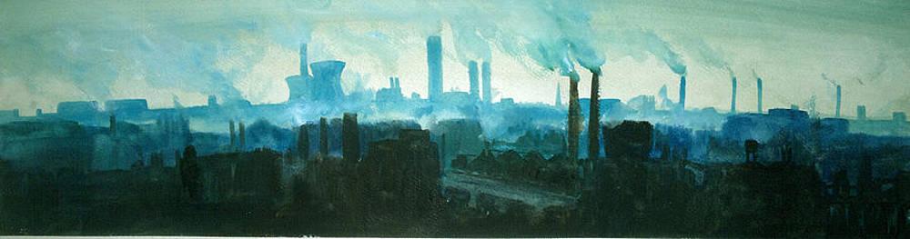 Paul Mitchell - Industrial Skyline 1