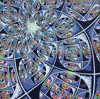 Fractal Evolution To Infinity by Chris Degenhardt