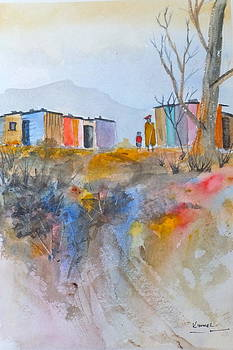 Informal Settlement Cape Town by Harold Kimmel
