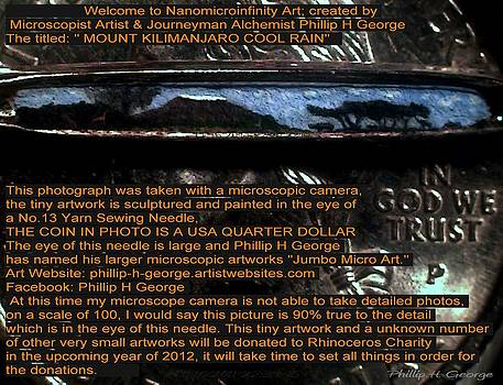 Phillip H George - Information Microphotograph