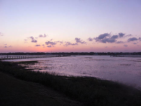 Inlet Sunset by David Campbell