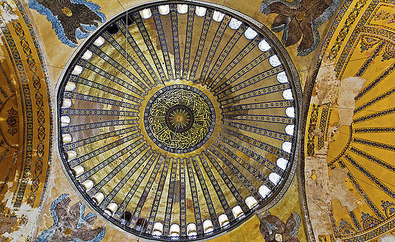 Kantilal Patel - Inner Dome Art Hagia Sophia