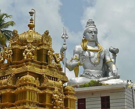 Inside Murudeshwara Temple 2 by Sandeep Gangadharan