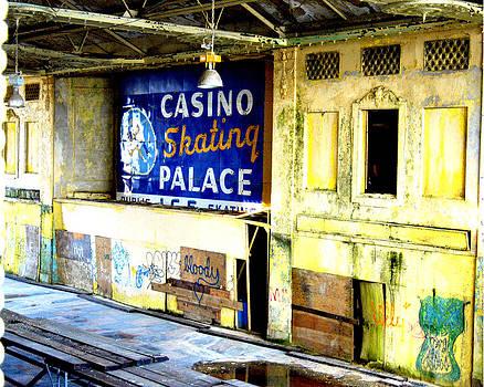 Inside the Casino Asbury Park NJ 2004 by Alyse Liebowitz