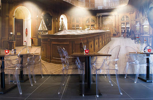 Interior Of A Restaurant In Haarlem by Corepics