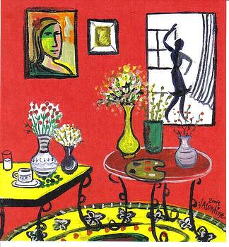 Interior with pallette  by Mike Valentine