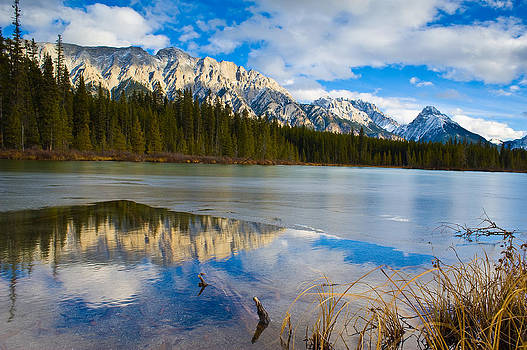 Interlake Kananaskis  by Edward Kovalsky