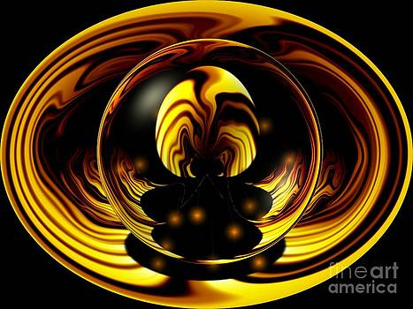Internal flames by Laurence Oliver