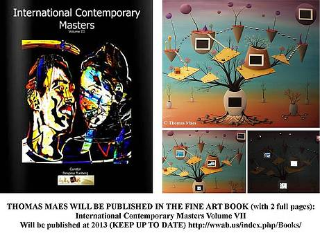Thomas Maes - International contemporary Masters Vol 7 With Thomas Maes