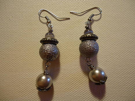 Into the Grey Earrings by Jenna Green