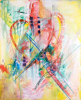 Intuitive Heart by Barbara Barry-Nishanian