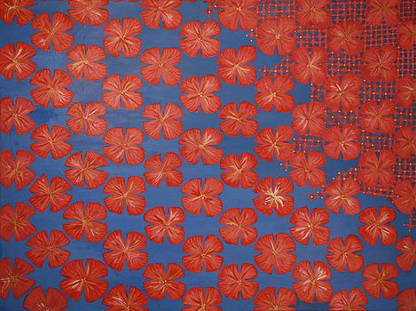 Inverse Hibiscus by Victoria Golden