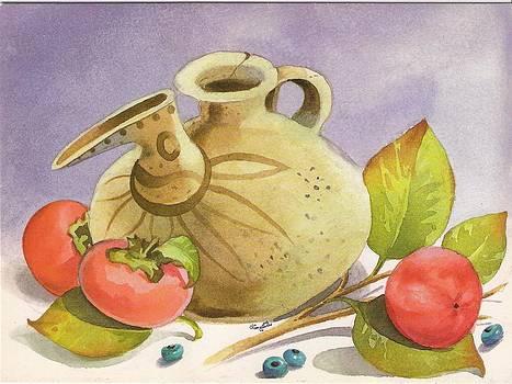 Iranian Ancient Earthenware by Mahshid Zali