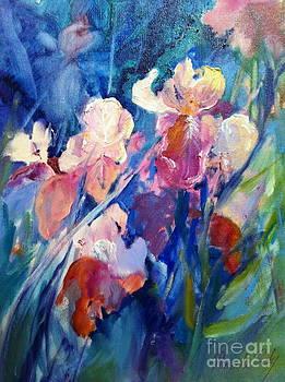 Iris Field by Pamela Pretty