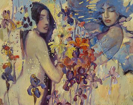 Iris by Svetlana Tiourina