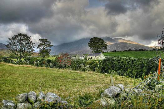 Irish mountain homestead by David McFarland