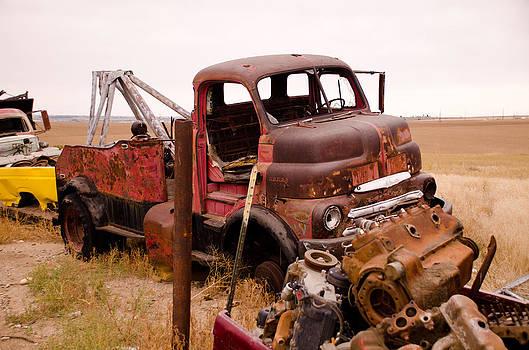 Iron Boneyard 5 by Matthew Angelo