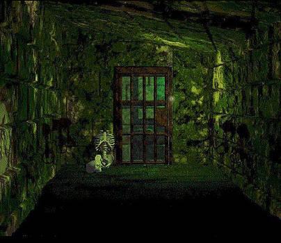 Iron door by Les DeMartin
