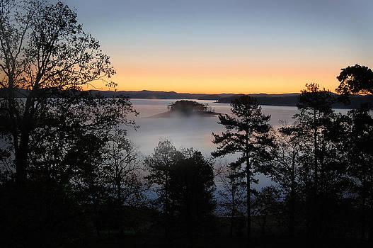 Island in the Mist by Cindy Rubin