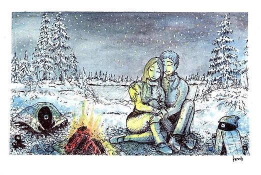 It ain't so cold tonight by Katchakul Kaewkate
