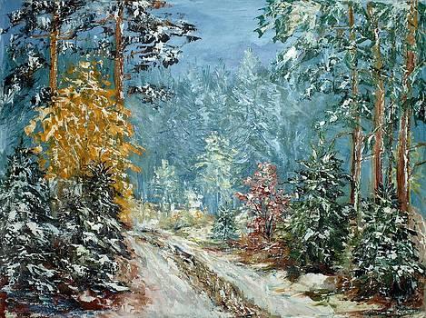 It is snowing - 1 by Stanislav Zhejbal