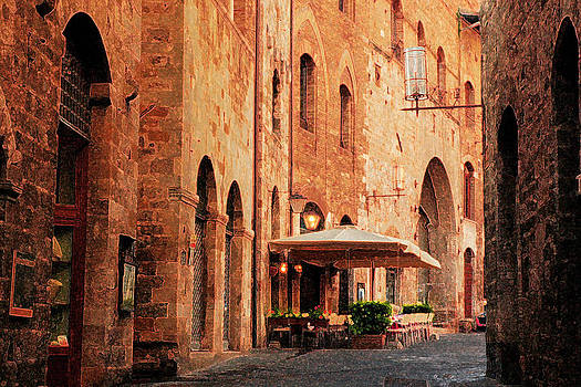 Italian Cafe by Jay Krishnan