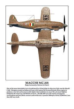 Italian Fighter Macchi by Jerry Taliaferro