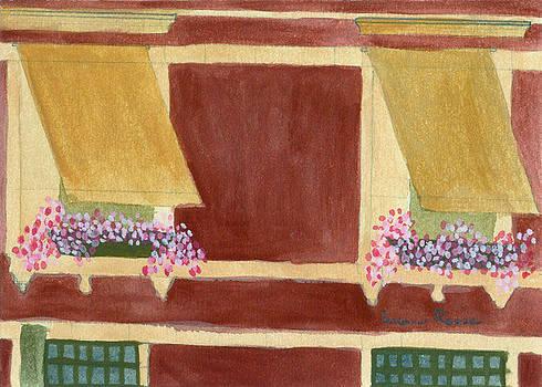 Italian Terrace by Susan Risse