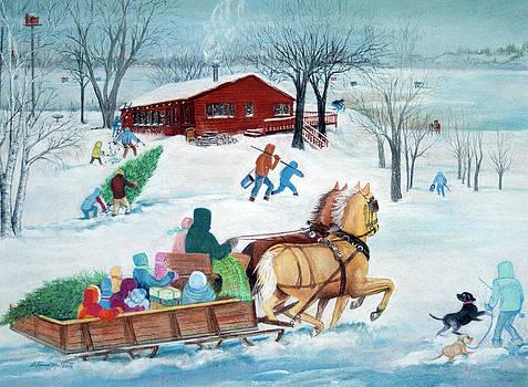 It's a Sleigh Ride by LaReine McIlrath