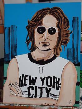 J. Lennon by Jeffrey Foti