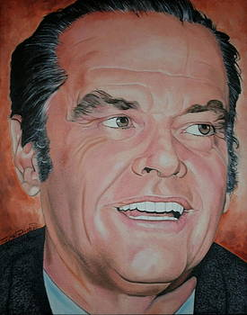Jack Nicholson by Timothe Winstead